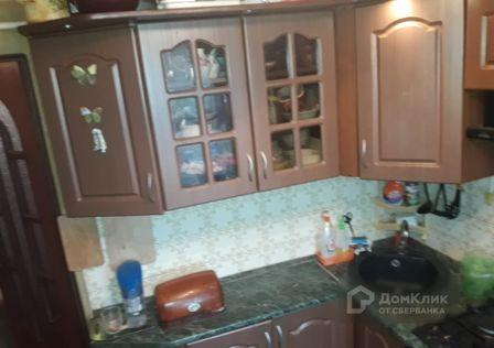 Продаётся 3-комнатная квартира, 55.8 м²