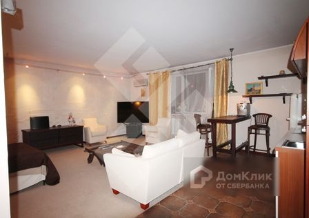 Продаётся 1-комнатная квартира, 59 м²
