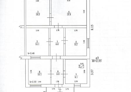 Продаётся 4-комнатная квартира, 76.1 м²