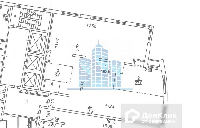 Продаётся 4-комнатная квартира, 196.1 м²