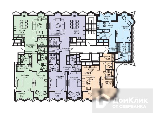 Продаётся 7-комнатная квартира, 320 м²